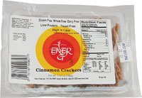 Ener-G Cinnamon Crackers Gluten Free -- 5.92 Oz front-219292