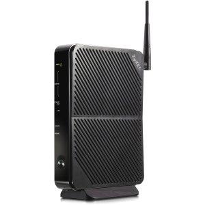 ZyXEL VSG1432 IEEE 802.11n Modem/Wireless Router - 2.40 GHz ISM Band - 2 x Antenna - 300 Mbps Wireless Speed - 4 x Network Port - 1 x Broadband Port - USB - Gigabit Ethernet Desktop - VSG1432 image