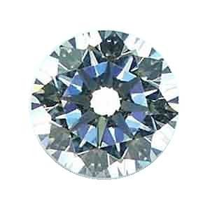White Round Cz Fancy Cut Loose Unset Manmade Gem Heart And Arrow Cut 10Mm (1)
