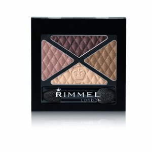 Rimmel Glam Eyes Quad Shadow Smokey Brun