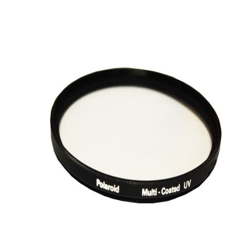 Polaroid Optics Multi-Coated UV Protective Filter For The Nikon D40, D40x, D50, D60, D70, D80, D90, D100, D200, D300, D3, D3S, D700, D3000, D5000, D5100, D3100, D7000 Digital SLR Cameras Which Have Any Of These (18-55mm, 55-200mm, 50mm) Nikon Lenses