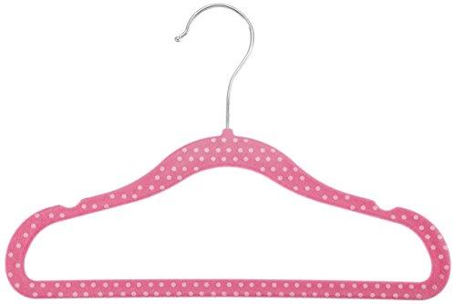 amazonbasics-grucce-in-velluto-per-bambini-30-pezzi-colore-rosa-a-pois