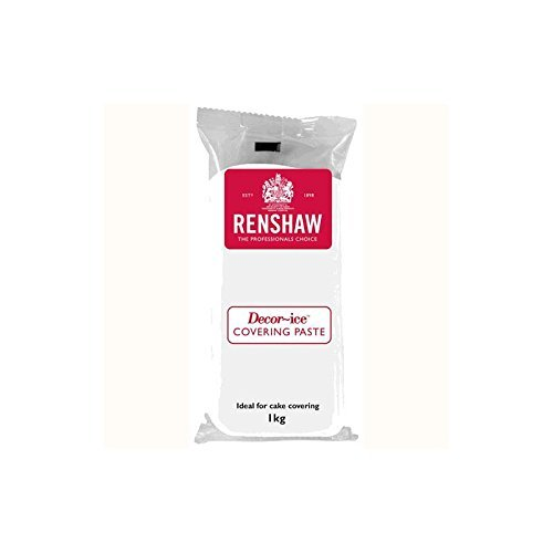 Pate a Sucre Blanche Covering Paste Renshaw 1 kg