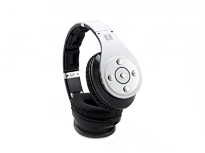 Bass Effect Audio Revolution X wireless Bluetooth 4.0 headphone with NFC, clear talk mic, Stereo Hi-fi and Mulit-Media Micro-SD capability