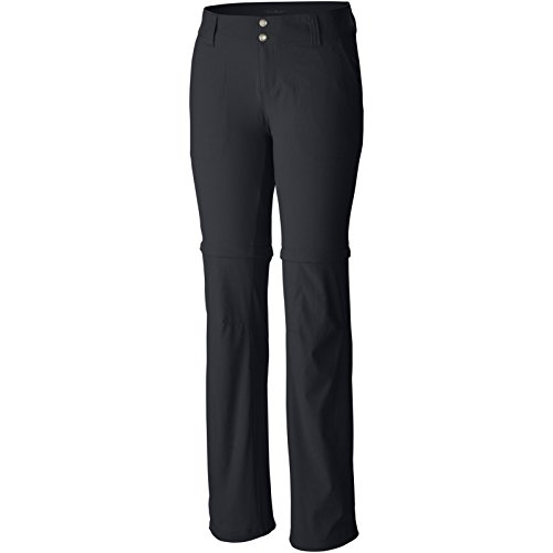 Columbia Women's Saturday Trail II Convertible Pant, Black, 10/Long (Columbia Zip Off Pants compare prices)