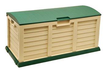 Large Weatherproof Outdoor 390 Litres Plastic Storage Deck Box (140cm/55