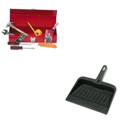 Kitgnsctb9Rcp2005Cha - Value Kit - Great Neck Ctb9 Light Duty Office Tool Kit, 16 Piece (Gnsctb9) And Rubbermaid-Chrome Heavy Duty Dust Pan (Rcp2005Cha)