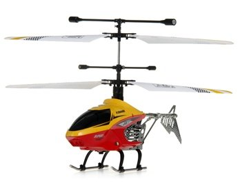 HCW2.4G 4-Channel RC Helicopter with Gyroscope, Light (Yellow)