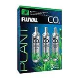 Fluval 17559 Disposable 3.35 oz CO2 Cartridge (3 Pack)