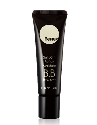 Korean Cosmetics, Hanskin_ Hanskin, Smooth Reflex Moisture Bb Cream30G (Brightening, Close Fitting, Whitening, Nourishing, Uv Protection, Skin Care Effects)+Free Gift (Softbay Mask Pack 2Sheets)[001Kr]