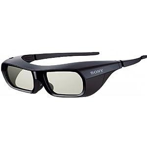 Sony TDGBR250B - Gafas 3D Active Shutter para televisores Bravia 3D Full HD, color negro
