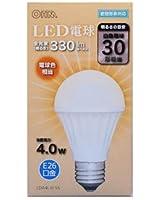オーム電機 LED電球 一般電球形 4.0W(電球色相当)OHM LDA4L-H 55(06-3133)