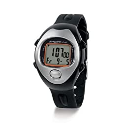 Sportline Calorie Tracking Heart Rate Monitor Watch Dual Function Fitness Watch