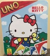 Hello Kitty uno in scatola di latta