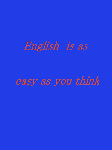 English is as easy as you think.