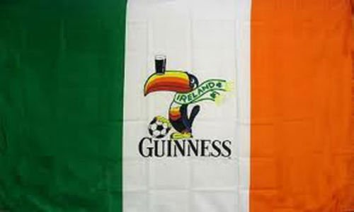 3Ftx5Ft Guinness Ireland Irish Flag Sign fitzgibbon irish in ireland