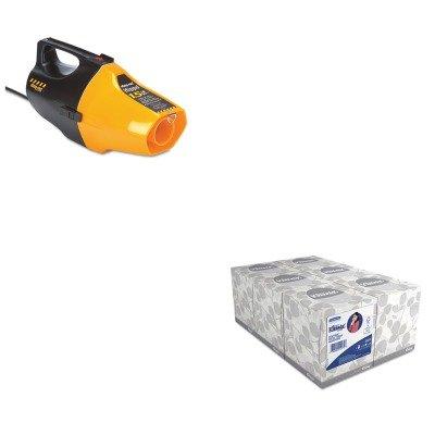 Kitkim21271Sho9991910 - Value Kit - Shopvac Hippo Handheld Vac (Sho9991910) And Kimberly Clark Kleenex White Facial Tissue (Kim21271) front-465375