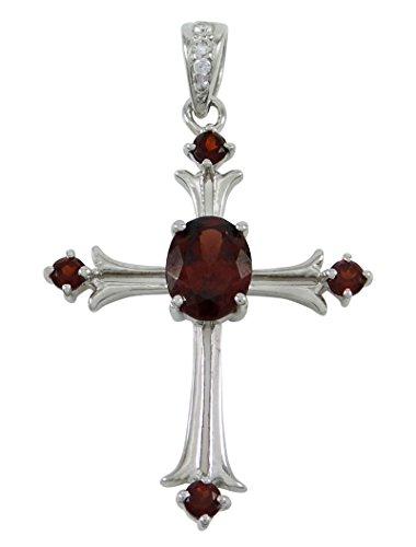 banithani pierre d argent solide 925 chain pendentif croix design bijoux de mode indienne. Black Bedroom Furniture Sets. Home Design Ideas