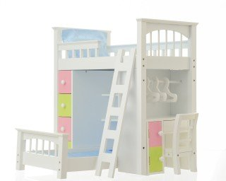 American Girl Loft Bed 170325 front