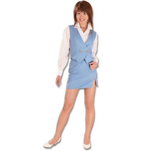 OLファッション2 ブルー