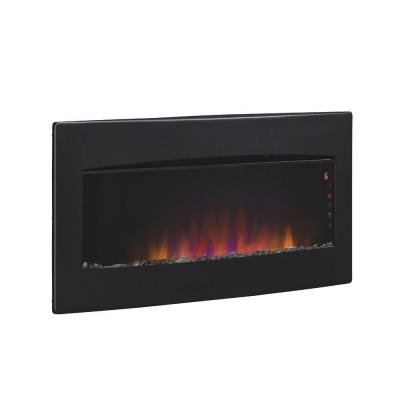Fireplace Twin Star Chimney Free Serendipity 35 In. Wall Mount / Tabletop Electric Fireplace