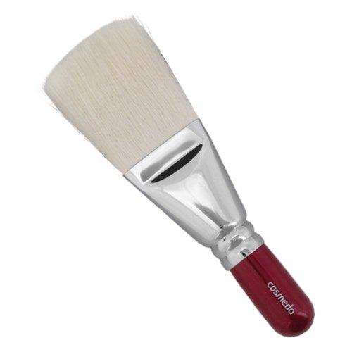 匠の化粧筆コスメ堂 熊野筆メイクブラシ ショートタイプ ゴート100%パウダーブラシ