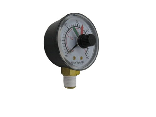 Hayward D.E.CX271261 Boxed Pressure Gauge with Dial Replacement for Select Hayward Filter and Multiport Valve (De Filter Pressure Gauge compare prices)