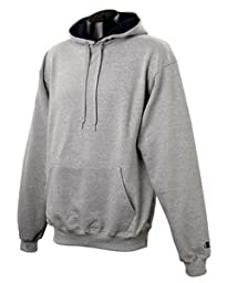 Champion 9.7 oz.; 90/10 Cotton Max Pullover Hood - OXF GRY/NAVY - 2XL