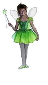 Original Disney Tinkerbell Prestige Costume (Wand, tights and slippers not included)