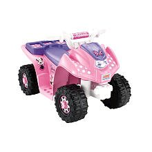 Power Wheels Fisher-Price 6 Volt Lil Quad Ride On - Minnie Mouse
