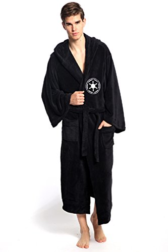 Horries Star Wars Galactic Empire Unisex Darth Vader Sith Bathrobe