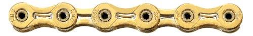 KMC X10SL 10 Speed 116 Links Chain (Gold)