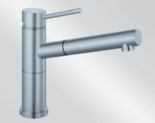 Blanco Alta-S Compact Edelstahl Hochdruck Armatur
