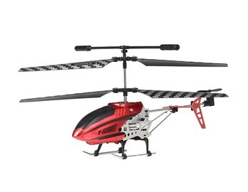 3-Channel RC iPhone iPad Control Helicopter with Gyroscope (Red)