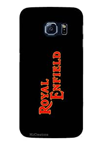 MiiCreations 3D Printed Back Cover for Samsung Galaxy S6 Edge,Royal Enfield