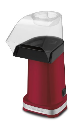 Review Of Cuisinart CPM-100 EasyPop Hot Air Popcorn Maker, Red