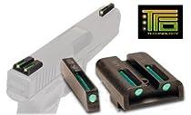 Truglo TFO Handgun Sight Set - Sig #8/#8 (Green/Green)