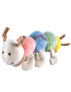 Simply Fido Organic Plush 10-Inch Maggie Caterpillar Dog Toy