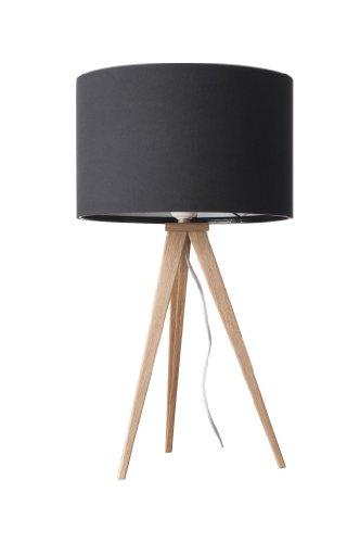 Zuiver Desinger Tischleuchte Tripod Table Schirm schwarz – Füße natur