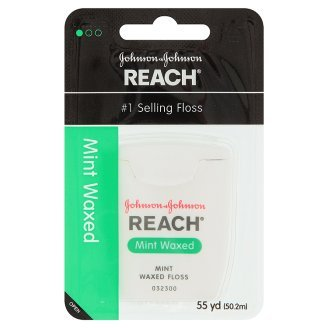 Johnson And Johnson Reach Dental Floss Mint Flavor. 43.33 Inches front-502288