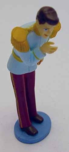 "Disney Cinderella Prince Charming PVC Figure Toy Cake Topper 3.5"" Tall"