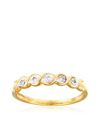 DIAMANTINI Bague Bague «Jolie Torsade» D0.03Ct/5