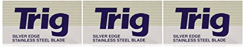 Trig Silver Edge Stainless Double Edge Razor Blades - 30 Ct (Trig Blades compare prices)