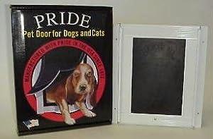 PRIDE PET DOOR DELUXE MEDIUM ANODIZED 8.5X12.5