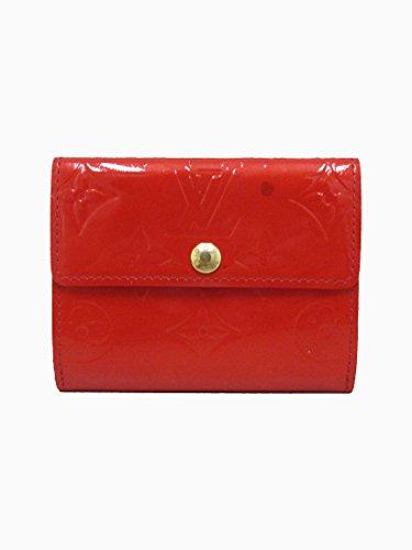 LOUIS VUITTON(ルイヴィトン) ヴェルニ ラドロー 赤 レッド M91978 コインケース 小銭入れ 二つ折り財布