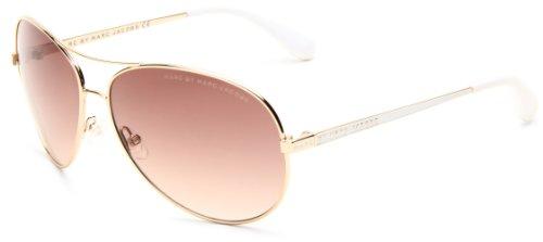 9649cfb627 Marc by Marc Jacobs Women s MMJ 184 S 0J5G Aviator Sunglasses ...
