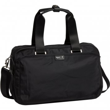 Agnes B Travel Bag Small Size Black Color