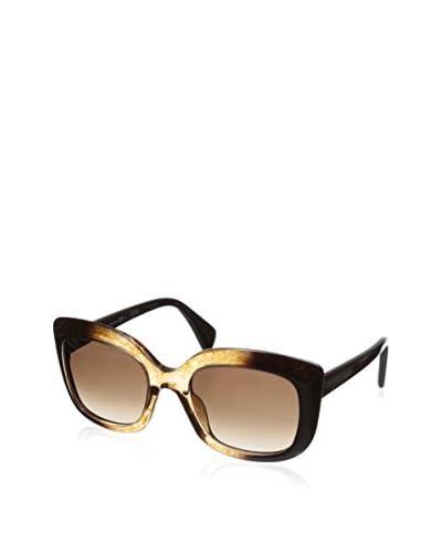 Alexander McQueen Women's 4235 Sunglasses, Brown Honey