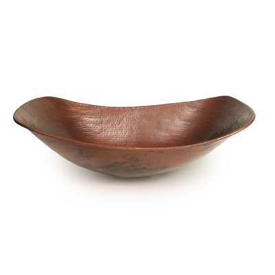 Sleigh Copper Vessel Sink Finish: Dark Smoke Copper