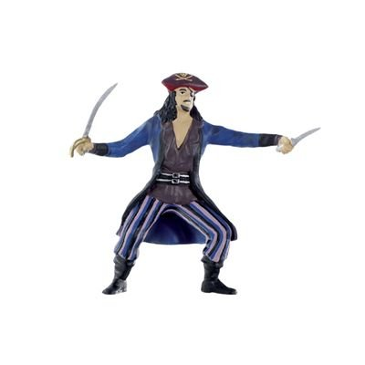 Pirate With Sabre Figure - 4''